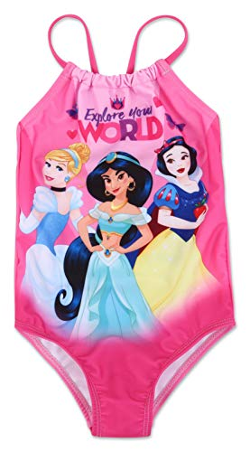 Toddler Girl Disney Princess One Piece Swimsuit 4T -