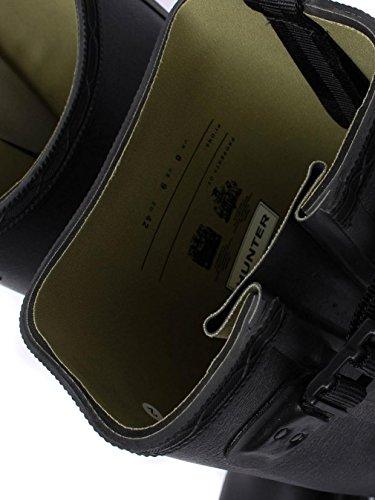 Hunter Gummistiefel Herren Balmoral Side Verstellbare 3mm Neopren Gummistiefel - Schwarz, Schwarz, 44