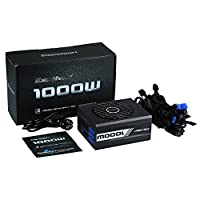 Excelvan 1000W Switching Supports Intel and AMD Fully Modular Double Low Noise Power Supply