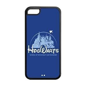 the Case Shop- Harry Potter Hogwarts TPU Rubber Hard Back Case Cover Skin for iPhone 5C ,i5cxq-137