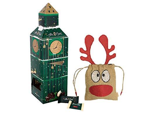 NEW 2018 Nestle After Eight Big Ben Advent Calendar 185g | British Christmas Candy Chocolate UK English Advent Calendar | British Christmas Shop | Imported from UK | Handmade Basically British Reindee