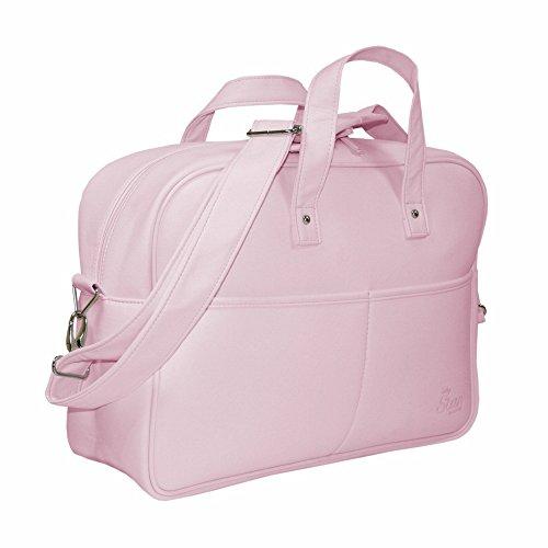 Garessi M11-01 - Bolso de paseo, color blanco Rosa