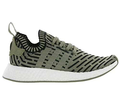 Uomo scarpa sportiva, colore Verde , marca ADIDAS ORIGINALS, modello Uomo Scarpa Sportiva ADIDAS ORIGINALS NMD R2 PK Verde Bianco-Nero-Olivina