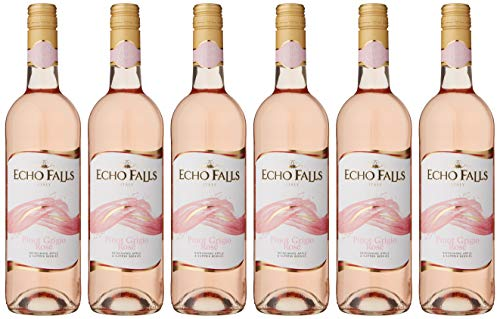 Echo Falls Pinot Grigio Rose Wine, 75 cl, Case of 6