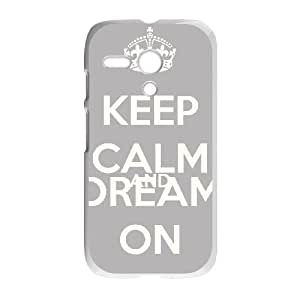 Keep Calm Dance On Motorola G Cell Phone Case White K092600