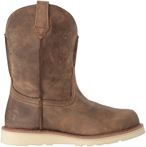 Ariat Mens Rambler Round Toe Work Boot, Brown Bomber, 8 D US Brown Bomber