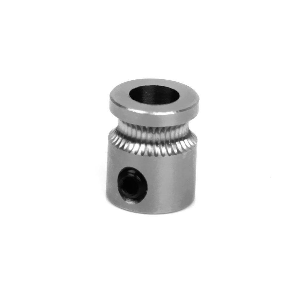 UEETEK Imprimante 3D extrudeuse remplacement MK8 Drive Gear 5mm arbre de transmission pour 1,75 mm Filament imprimante 3D