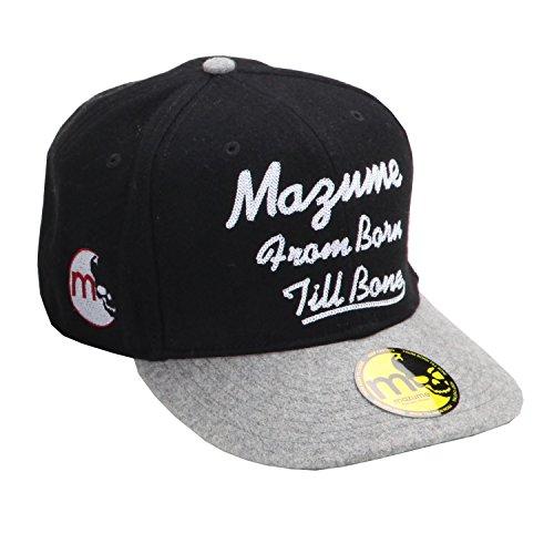 MAZUME(マズメ) FLAT CAP MZCP-246-01 ブラック フリーの商品画像