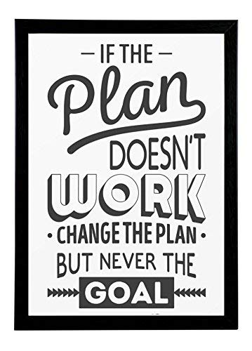 IF THE PLAN DOESNT WORK Decal life quote inspiration motivation