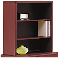 10700 Series Bookcase Hutch, 32 5/8w x 14 5/8d x 37 1/8h, Mahogany, Sold as 1 Each