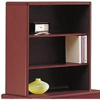 10700 Series Bookcase Hutch, 32 5/8w x 14 5/8d x 37 1/8h, Mahogany, Sold as 1 Each