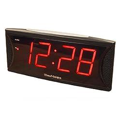 Super Loud 2 Inch Red LED Alarm Clock