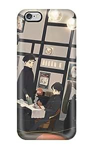 Durable Defender Case For Iphone 6 Plus Tpu Cover(animal Apron Bow Cat Japanese Kimono Original Shorttoinana)