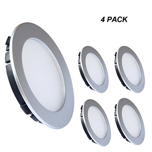 ultra thin led ceiling light acegoo recessed downlight surface mount