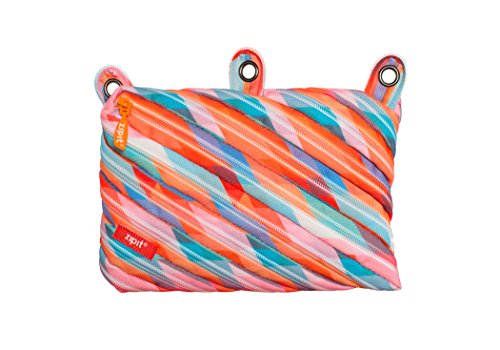 ZIPIT Colorz 3-Ring Pencil Case, Triangles