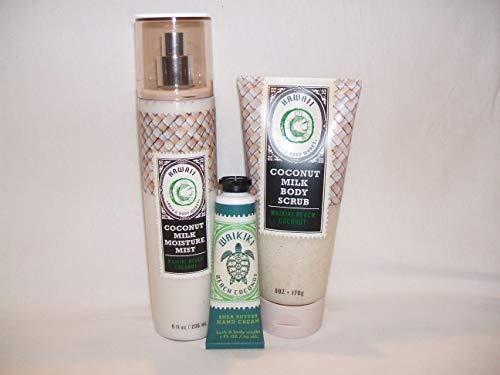 Hawaii Coconut Milk Bath & Body Works fragrance Mist,body scrub waikiki hand cream