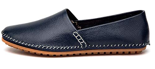 Classy Casual Blue Men's Driving Go Boat Go Tour The Mocassin Leather Slip On Loafers Shoes BxaRCEqpw