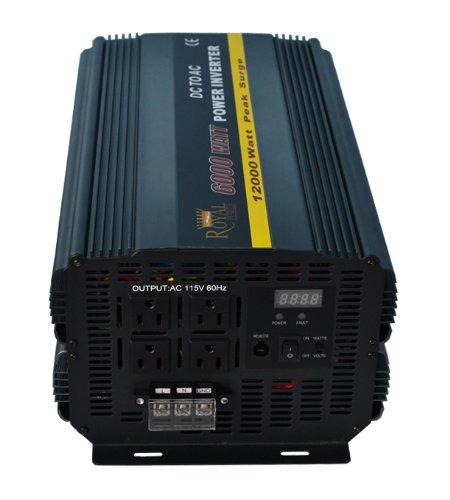 Royal Power PI6000-24 Power Inverter 6000 Watt 24 Volt DC To 110 Volt AC