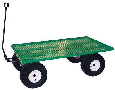 Heavy Duty Steel Bed Utility Cart Wagon - 1000 lb. - 1500 lb. Capacity (24