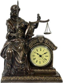Diosa de la Justicia reloj abogado despacho bufete