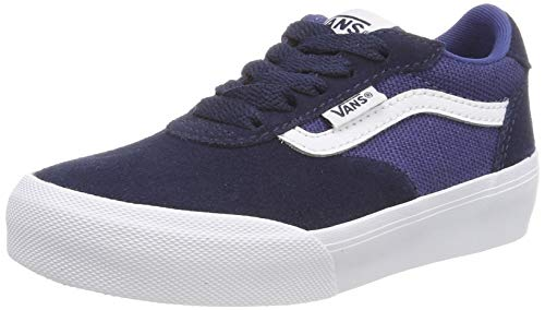 Vans Boys' Palomar Trainers, (Suede/Canvas) Dress Blues/Navy Vg6, 38 EU