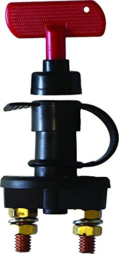 Invincible Marine Battery Cut-Off Switch with Removable Key
