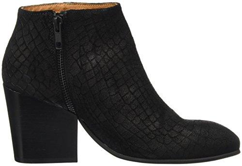 SELECTED FEMME Sfamber Zip Croco Boot, Stivali Donna nero