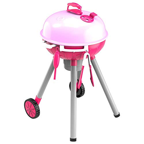 Play House,Simulation Toy Set Lighting Sound BBQ Variety Barbecue Cart Play House for Children,New Year Gift