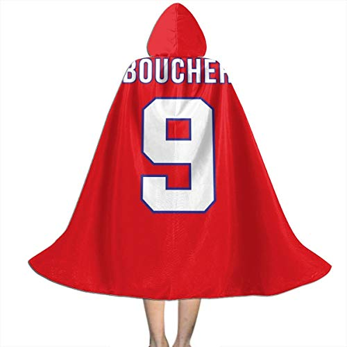 Boucher Halloween Costume (SEDSWQ Bobby Boucher Number 9 The Waterboy, Trucker Cap Unisex Kids Hooded Cloak Cape Halloween Xmas Party Decoration Role Cosplay Costumes)