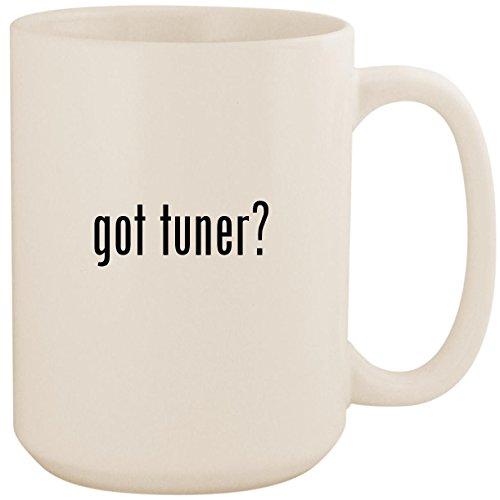 got tuner? - White 15oz Ceramic Coffee Mug Cup