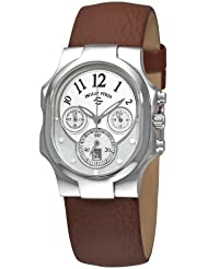 Philip Stein Womens 22-FMOP-CBR Classic Chronograph Dial Watch