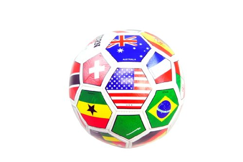 WORLD FLAGS LOGO SIZE 2 MINI SOCCER BALL - SSB-025