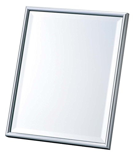 Big Luxury design Mirror, Size : H 11.25 x W 10.16 x D 0.98 Inch, Color : Silver by Merry Corporation.