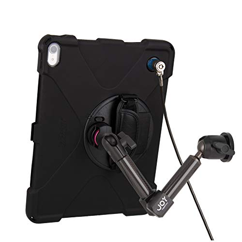 The Joy Factory MagConnect Carbon Fiber Wall/Counter Mount with aXtion Bold MPS Water-Resistant Rugged Security Case for iPad Pro 12.9'' [3rd Gen] Built-in Screen Protector, Hand Strap (MWA4104MPS) by The Joy Factory (Image #8)