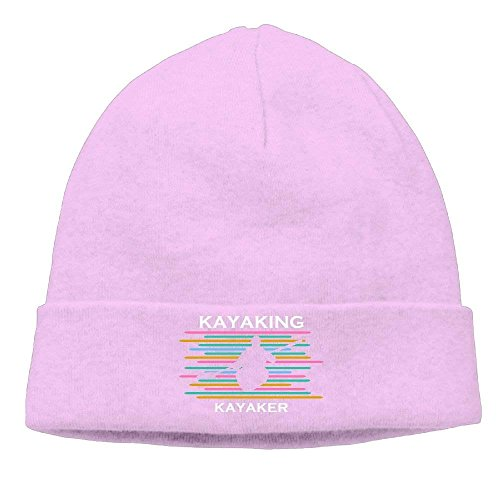 Beanie Pink Knit Adults Retro Kayaker Kayaking Hat Men Skull Hhaj Beanie Women Cap Hfwvn6wxU