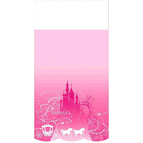 Disney Princess Sparkle Plastic Table Cover Tableware Decora