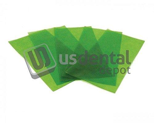 KEYSTONE - Stippled Wax Sheets - 22ga ( 0.64mm ) - 15 pk - Pressure Se 102003 Us Dental Depot