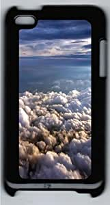 Above The Clouds Custom iPod Touch 4/Apple iPod 4 Case Cover Polycarbonate Black