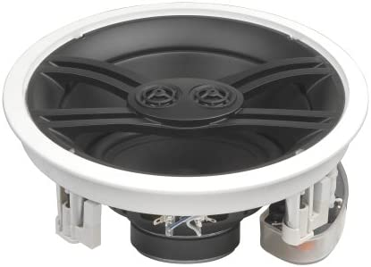 4 Speakers + Basics Speaker Wire Yamaha NS-IW480CWH 8 3-Way In-Ceiling Speaker System White