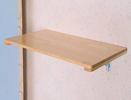 Mesas plegables Mesa de comedor de madera maciza Mesa de pared ...