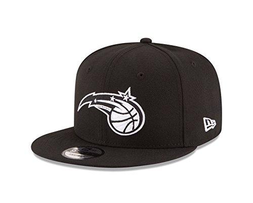 Orlando Magic Cap - New Era NBA Orlando Magic Men's 9Fifty Snapback Cap, One Size, Black