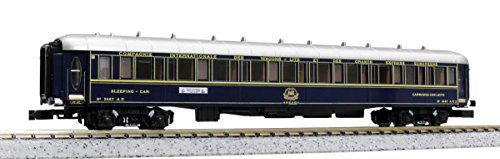 6 Passenger Car - Kato 10-562 Orient Express '88 Passenger Car 6-Car Add-On Set