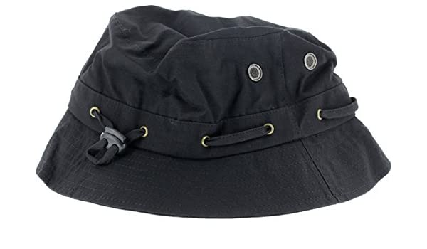 Amazon.com   Grizzly Griptape GRIZZLY BEAR TRAP BUCKET HAT BLACK   Sports    Outdoors 588cfaaffb6