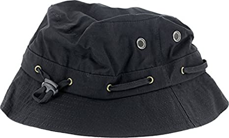 f8dca1b1b59 Image Unavailable. Image not available for. Color  Grizzly Griptape GRIZZLY  BEAR TRAP BUCKET HAT BLACK