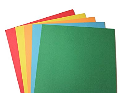 "24lb Bond Assorted Rainbow Brights Colored Paper - Letter Size 8 1/2"" x 11"""