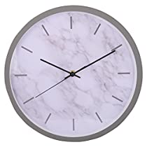Kapimo Aluminum Wall Clock (30 cm x 30 cm x 5 cm, White, WCK3_2)