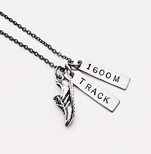 Amazon.com: RUN TRACK 1600M Necklace
