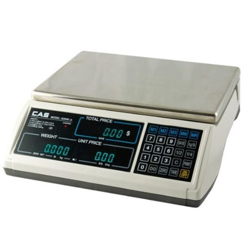 CAS S-2000 Jr Price Computing Scale with LCD Display 60 ()