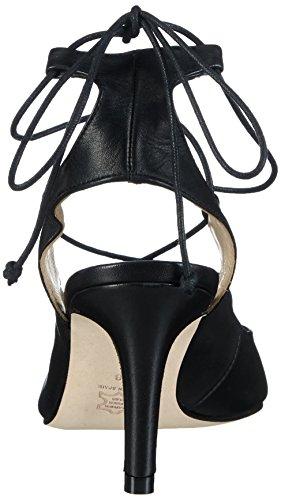 Paco Gil P3032 - Sandalias de tobillo Mujer Negro