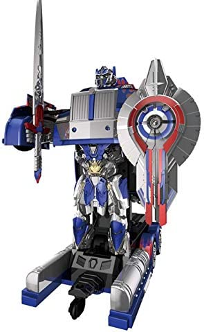 Vervorming speelgoed, Vervorming Toy Remote Control Autobot één knop vervorming Voice Control Induction Robot Model Boy Toy